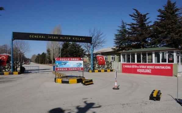Isparta Terörle Mücadele ve Tatbikat Merkezi Komutanlığı Komando Eğitim Alayı